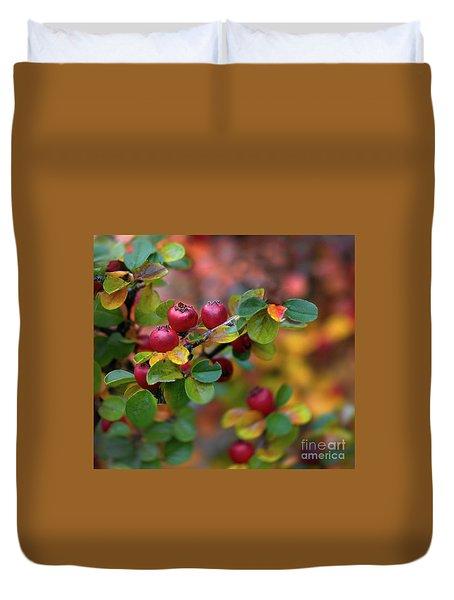 Ramona's Berries Duvet Cover