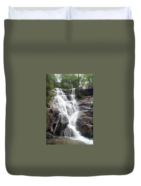 Ramsay Cascade Smoky Mountains National Park Duvet Cover