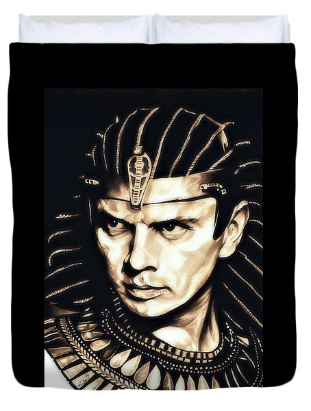 Ramses II Duvet Cover by Fred Larucci