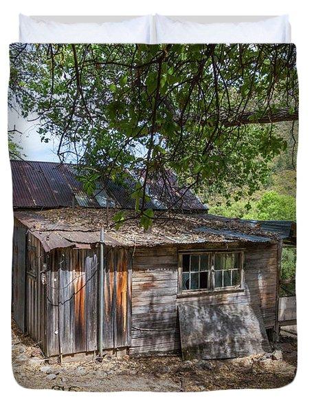 Ramsey Canyon Cabin Duvet Cover
