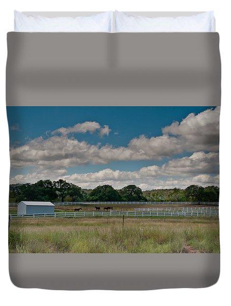 Ranch Duvet Cover
