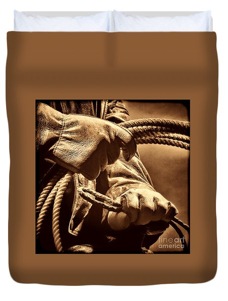 Ranch Hands Duvet Cover by American West Legend By Olivier Le Queinec