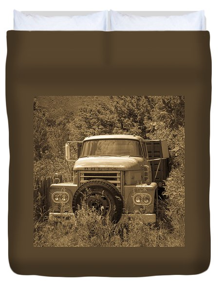 Ranch Truck Duvet Cover