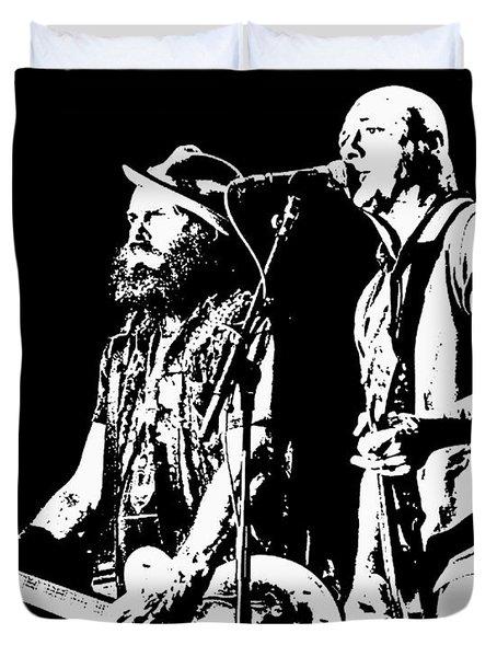 Rancid - Lars And Tim Duvet Cover