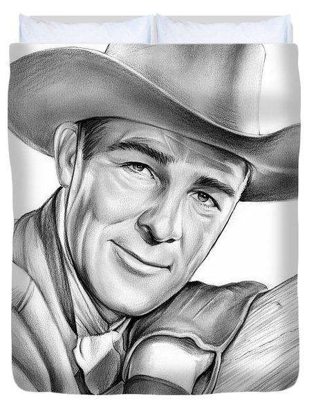 Randolph Scott Duvet Cover