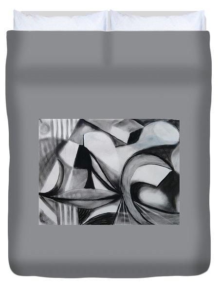 Random Shapes Duvet Cover