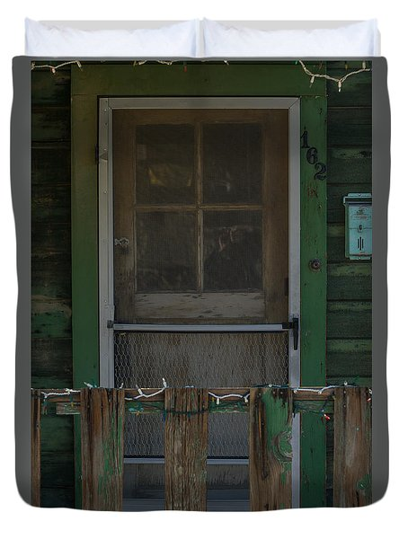 Randsburg Door No. 3 Duvet Cover