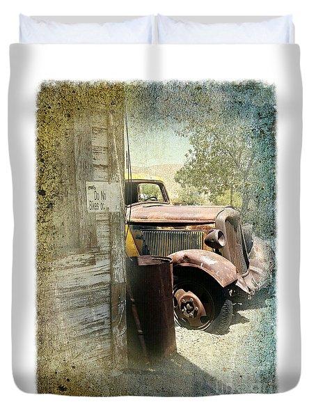 Randsburg Truck 3 Duvet Cover