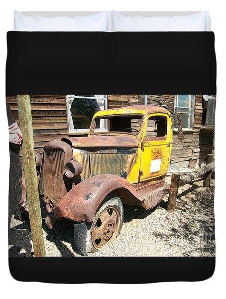 Randsburg Truck  Duvet Cover