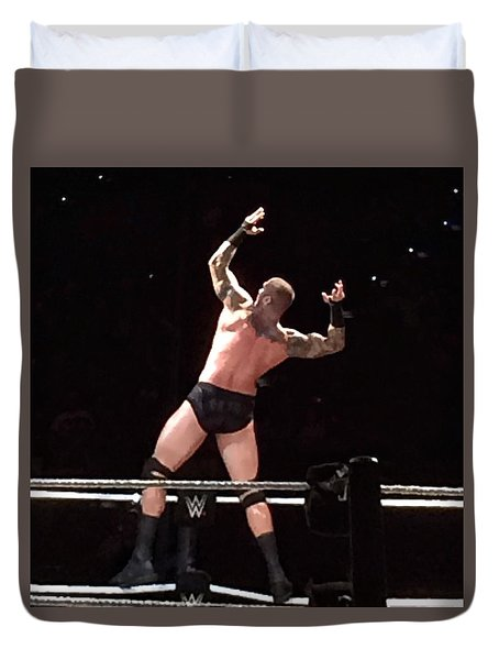 Randy Orton Wrestler Duvet Cover