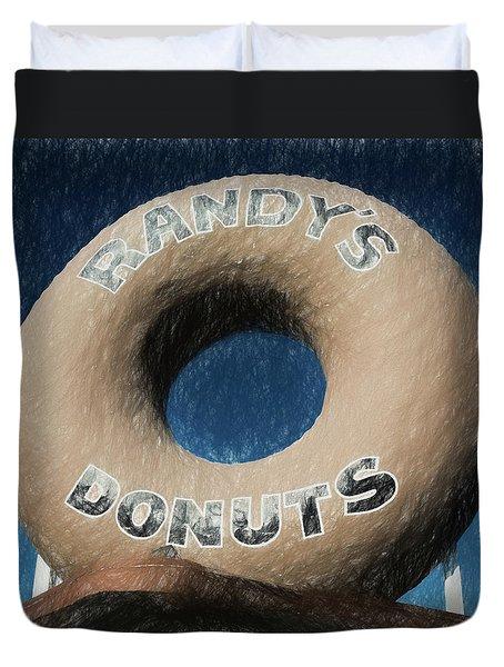 Randy's Donuts - 1 Duvet Cover