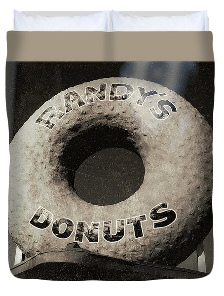 Randy's Donuts - 10 Duvet Cover
