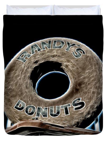 Randy's Donuts - 11 Duvet Cover