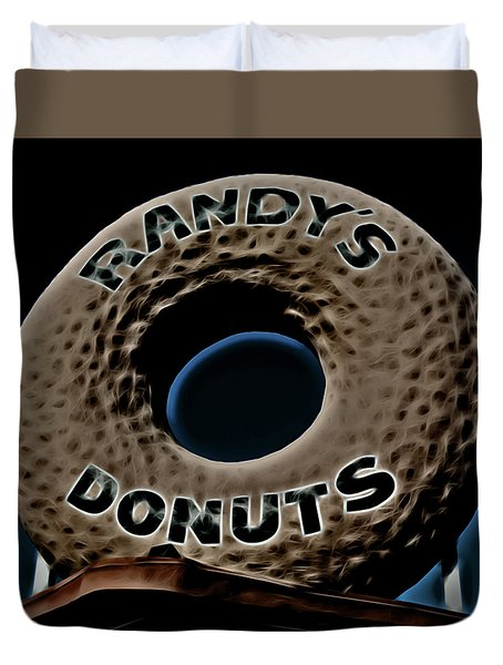Randy's Donuts - 13 Duvet Cover