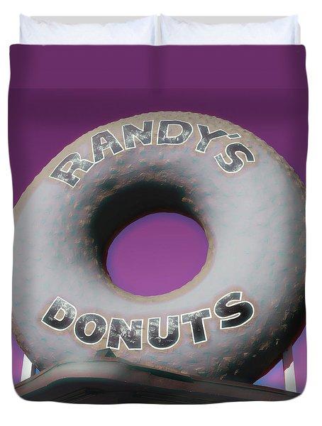 Randy's Donuts - 14 Duvet Cover