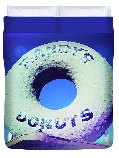 Randy's Donuts - 8 Duvet Cover
