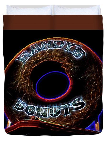 Randy's Donuts - 5 Duvet Cover