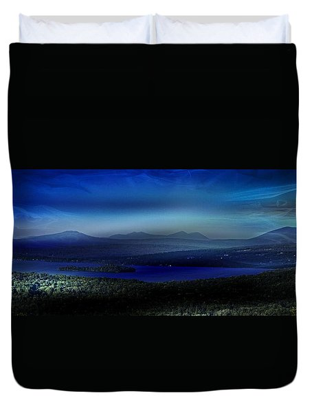 Rangeley Magic Sunset Duvet Cover