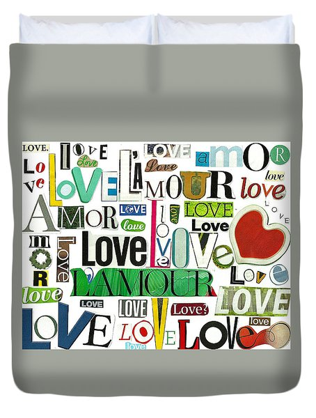Ransom Art - Love Duvet Cover