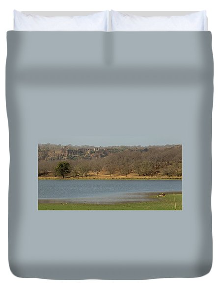 Ranthambore National Park Duvet Cover
