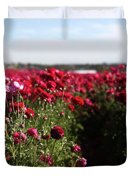 Ranunculus Field Duvet Cover