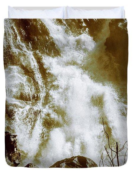 Rapid River Duvet Cover