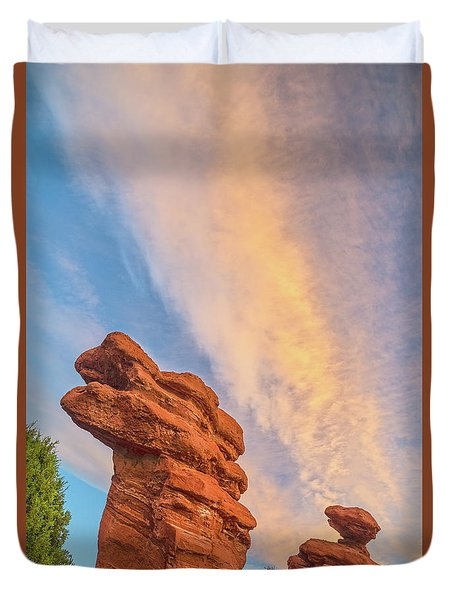Rapt With Joy At The Presence Of Such Splendor  Duvet Cover