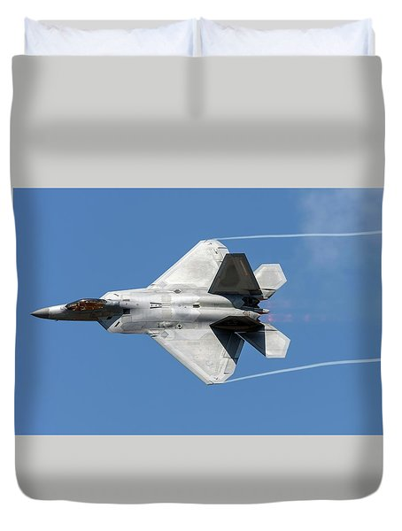 Raptor Dedication Pass Duvet Cover