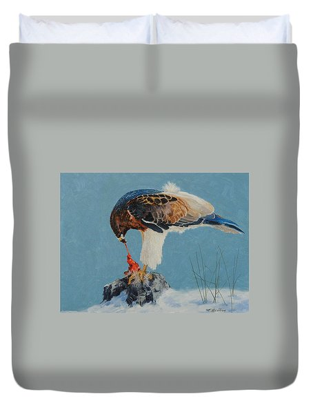 Raptor Duvet Cover