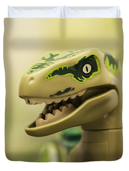 Raptor On The Prowl Duvet Cover