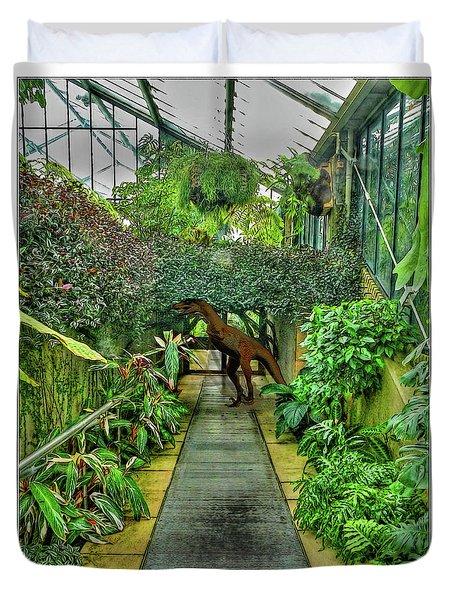 Raptor Seen In Kew Gardens Duvet Cover