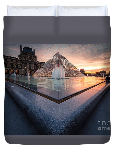 Rapture Duvet Cover by Giuseppe Torre