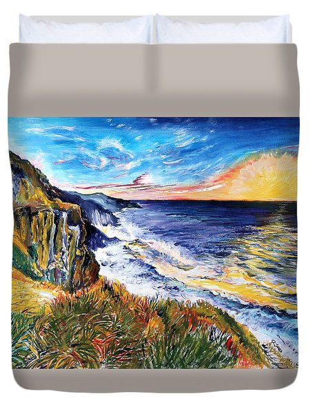 Rapturous Sunset Duvet Cover