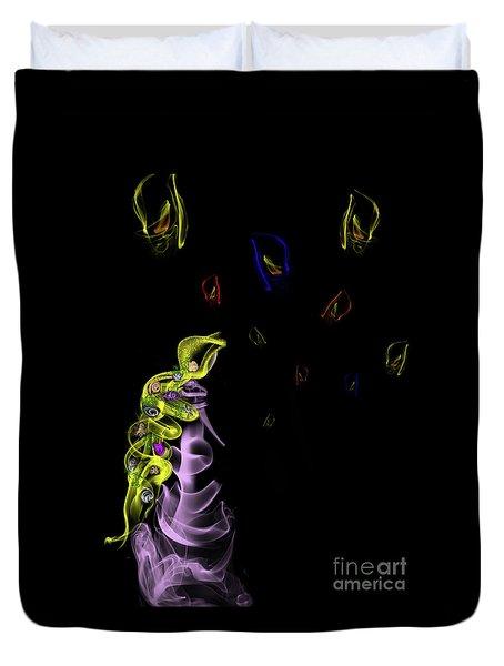 Rapunzel's Magic Flower Braid Duvet Cover