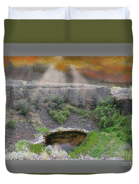 Rare Light  Duvet Cover