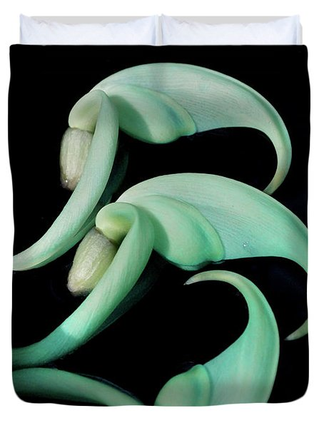 Rare Orchid Petals Duvet Cover