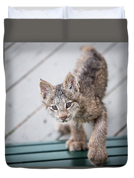 Does Click Mean Edible Duvet Cover
