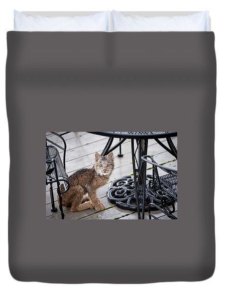 Are You Looking At Me Duvet Cover