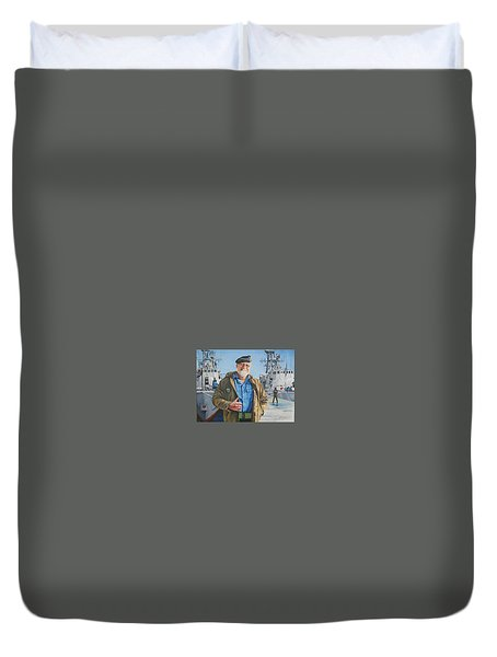 Ras Duvet Cover by Tim Johnson