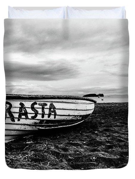 Rasta Noire  Duvet Cover