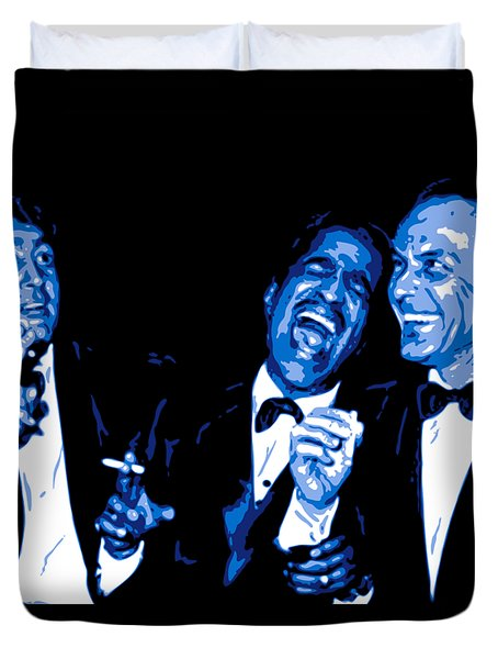 Rat Pack At Carnegie Hall Duvet Cover