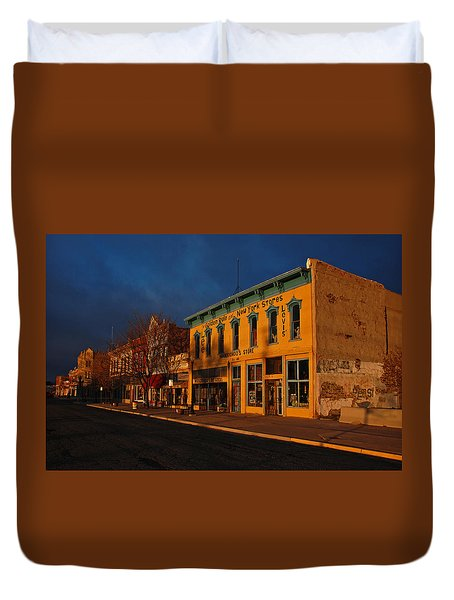 Raton Historic District Duvet Cover
