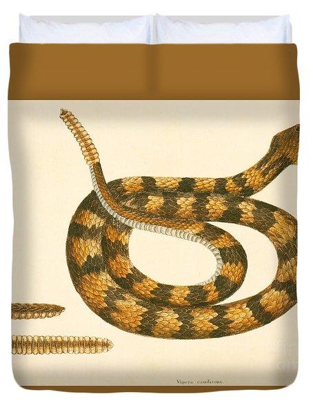 Rattlesnake Duvet Cover