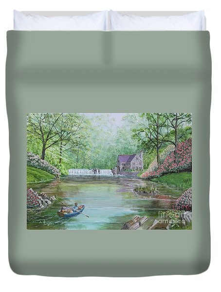 Ratty And Mole's Grand Day Out Duvet Cover