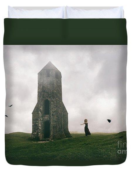 Raven Queen Duvet Cover