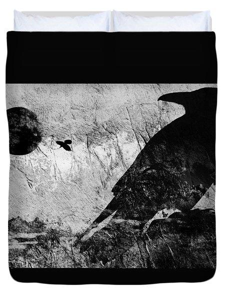 Raven Study 5 Duvet Cover