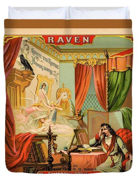 Raven Tobacco Duvet Cover