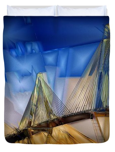 Ravenel At Dusk Duvet Cover