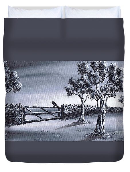 Ravens Gate Duvet Cover