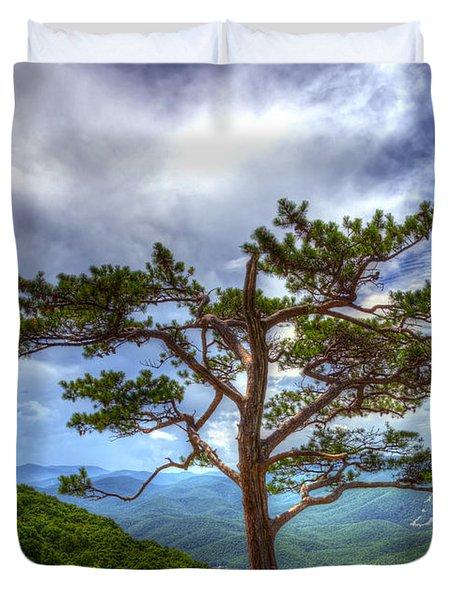 Ravens Roost Tree Duvet Cover
